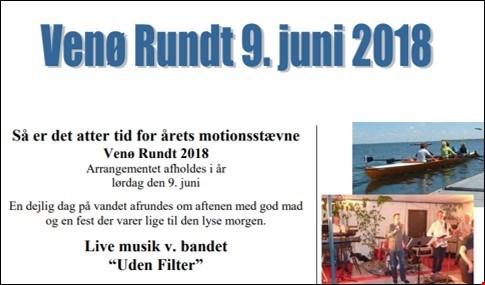 Invitation til Venø Rundt