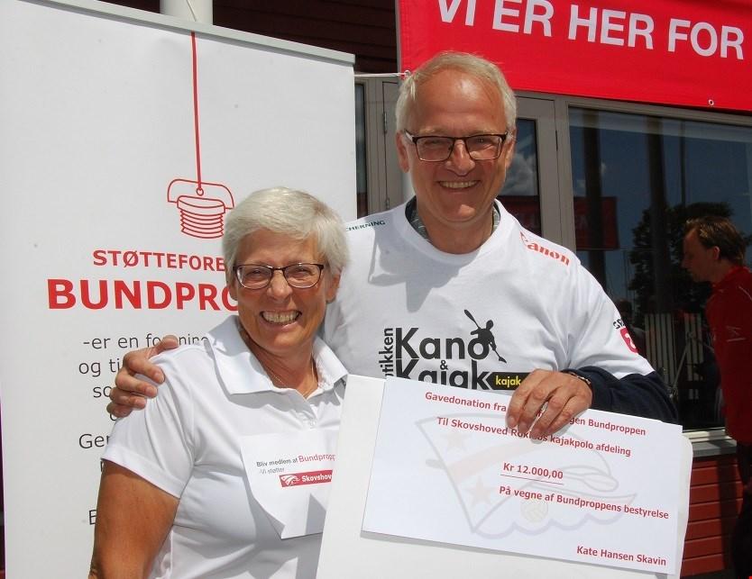 Donation fra klubbens støtteforening - Bundproppen