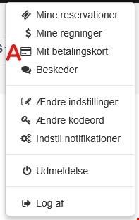 Information om betaling på wayfarer.dk