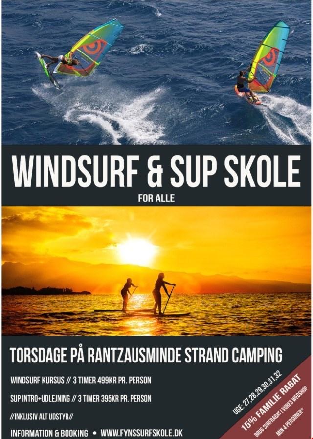 Windsurf og SUP skole i Rantzauminde
