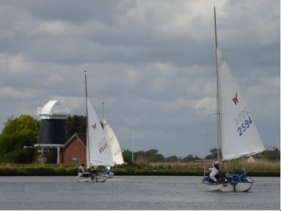 International Wayfarer Rally 2018 Norfolk Broads, England