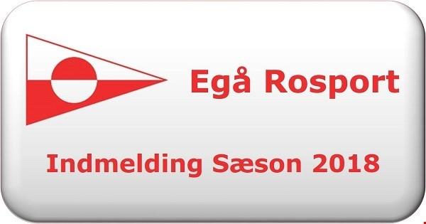 Egå Rosport - Sæson 2018