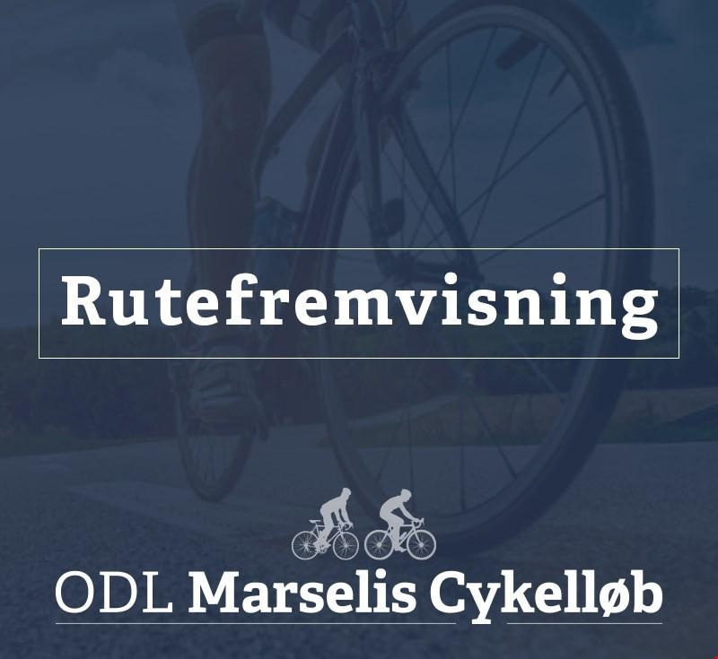 Rutefremvisning af Marselis Cykelruter