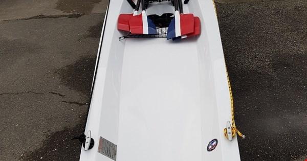 Ny coastalbåd 2x X25 Draget II er roklar