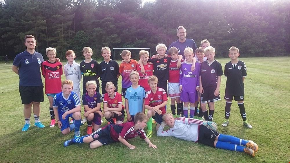 På sommerferie med masser af fodboldinspiration