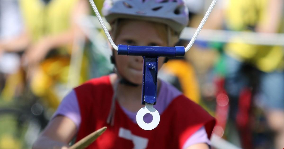 Gratis cykelringridning for børn, med præmier for over 20.000 kr