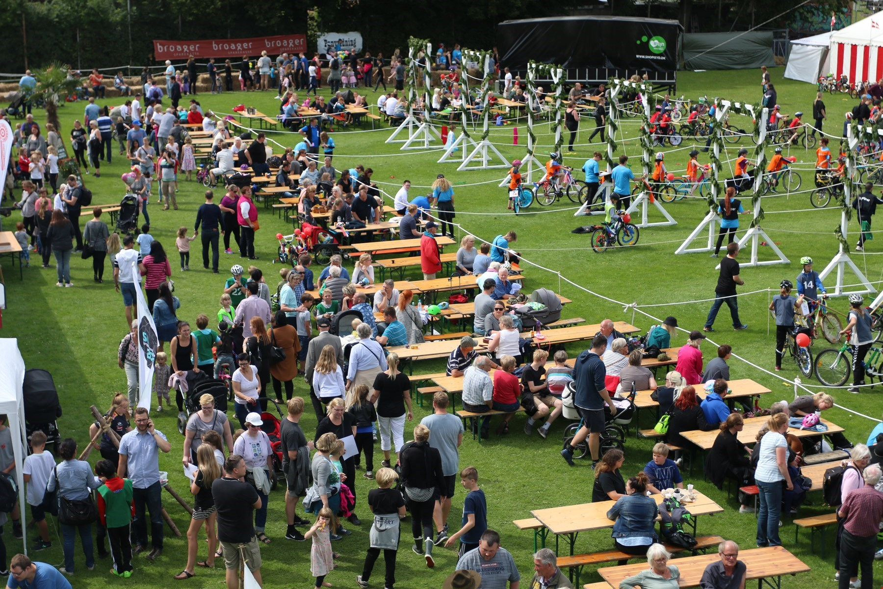 Ringriderfestens Børneland er fyldt med gratis aktiviteter