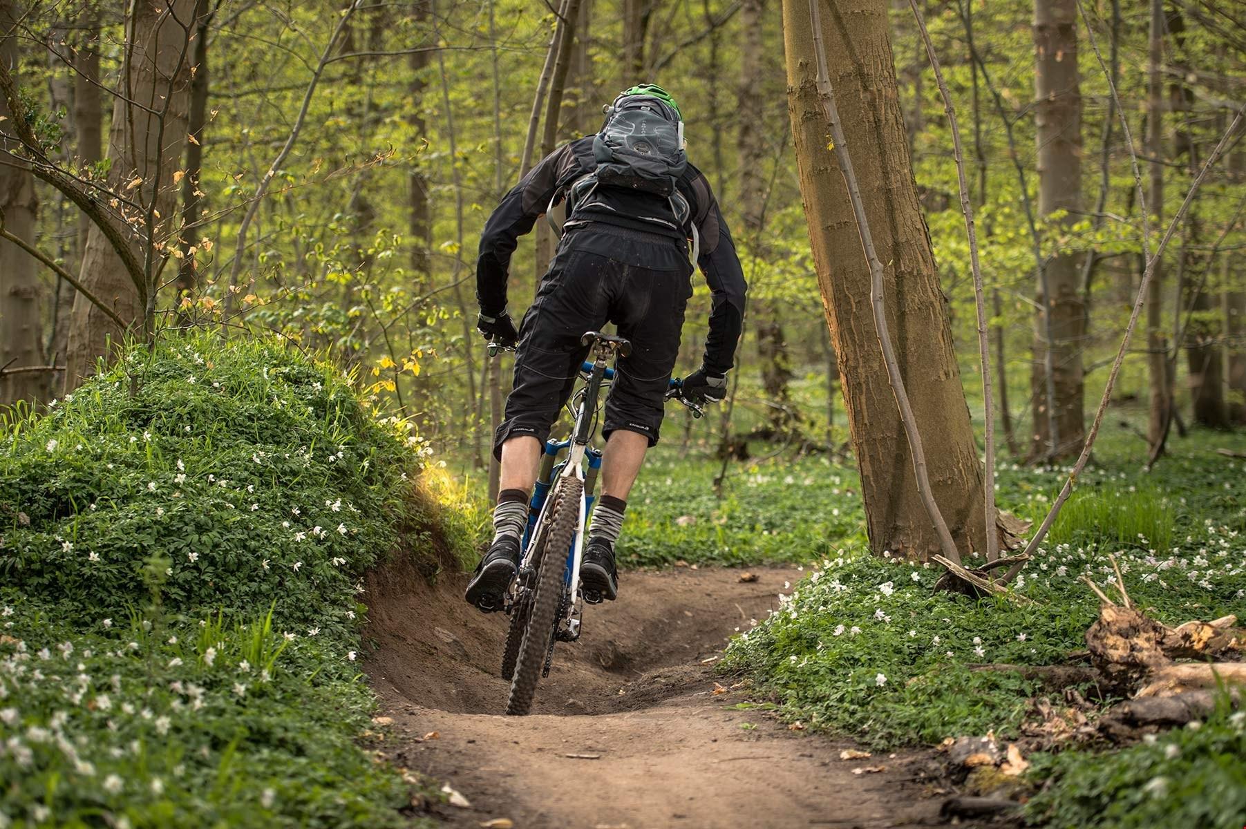 Mountainbike hold