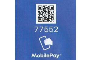 Mobilepay til vores telefonnummer