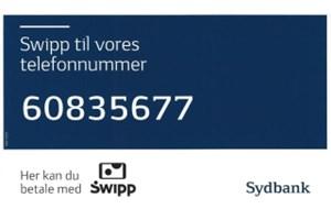 Swipp til vores telefonnummer